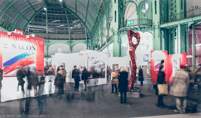 Vernissage Salon des Artistes Français 2018